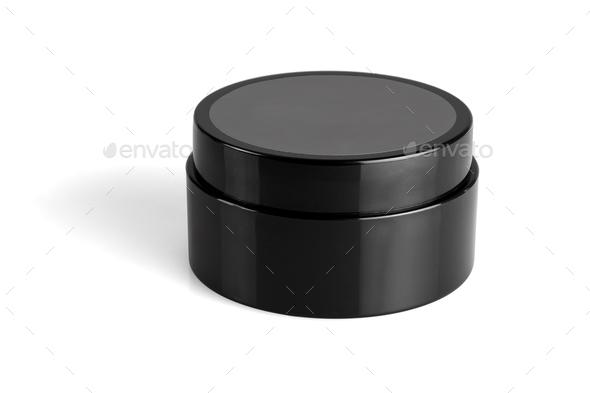 Black Plastic Container - Stock Photo - Images