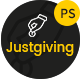 Justgiving - Crowdfunding & Charity PSD Template