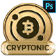 Cryptonic - Cryptocurrency PSD Template - ThemeForest Item for Sale