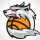 Wolf Basketball Logo Template - GraphicRiver Item for Sale