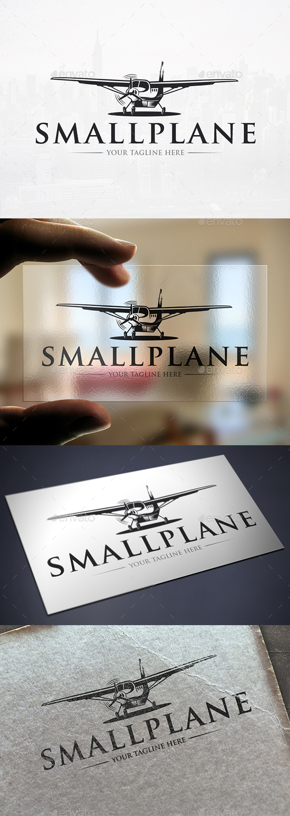 Aircraft Logo Template - Objects Logo Templates