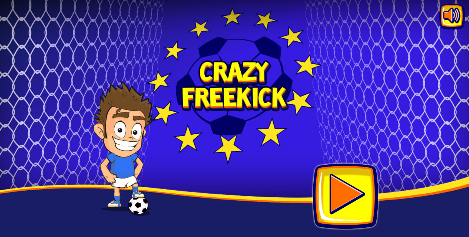 Crazy Freekick - HTML5 Sport Game