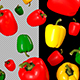 3D Peppers - VideoHive Item for Sale