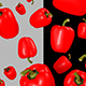 3D Red Peppers - VideoHive Item for Sale