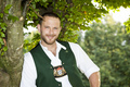 a man in bavarian traditional cloth - PhotoDune Item for Sale