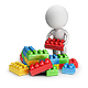 3D Small People - Toy Blocks - GraphicRiver Item for Sale