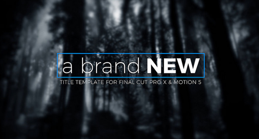 The Best Final Cut Pro X Templates and Addons on GraphicRiver