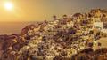 typical romantic view at Oia Santorini - PhotoDune Item for Sale