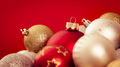 christmas balls with a red background - PhotoDune Item for Sale