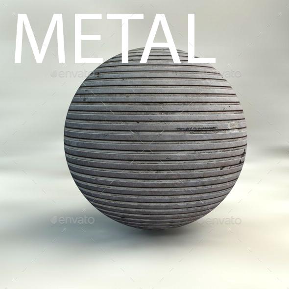 6 metal textures - 3DOcean Item for Sale