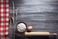 bakery ingredients on wood - PhotoDune Item for Sale