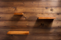 shelf on wooden wall background - PhotoDune Item for Sale