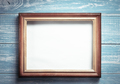photo picture frame on wood - PhotoDune Item for Sale