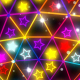 Flashing Neon Colorful Stars - VideoHive Item for Sale