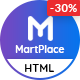 MartPlace - Multipurpose Online Marketplace HTML Template with Dashboard - ThemeForest Item for Sale