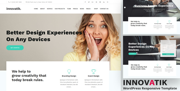 Image of Innovatik - Corporate WordPress Theme