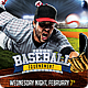 Baseball League Flyer - GraphicRiver Item for Sale