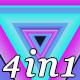Triangular Neon - VJ Loop Pack - VideoHive Item for Sale