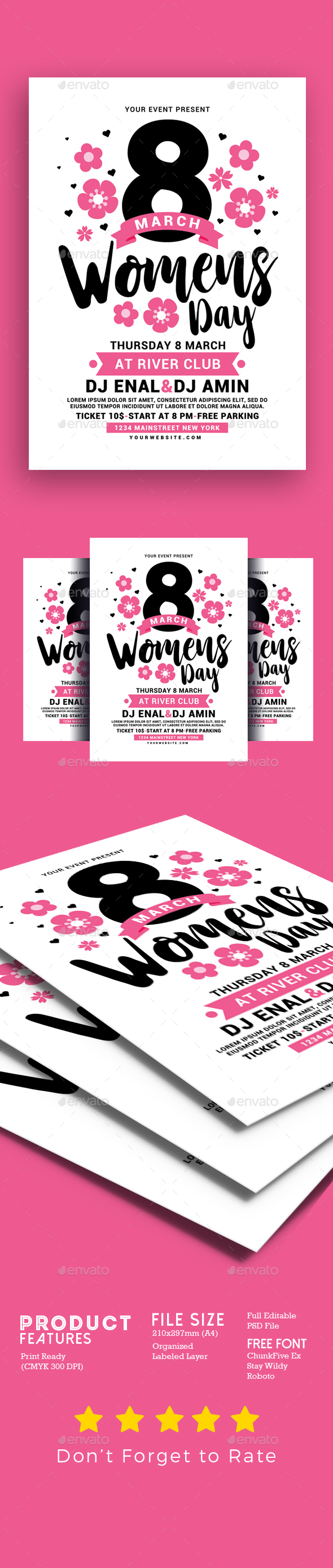 Womens Day Flyer - Events Flyers