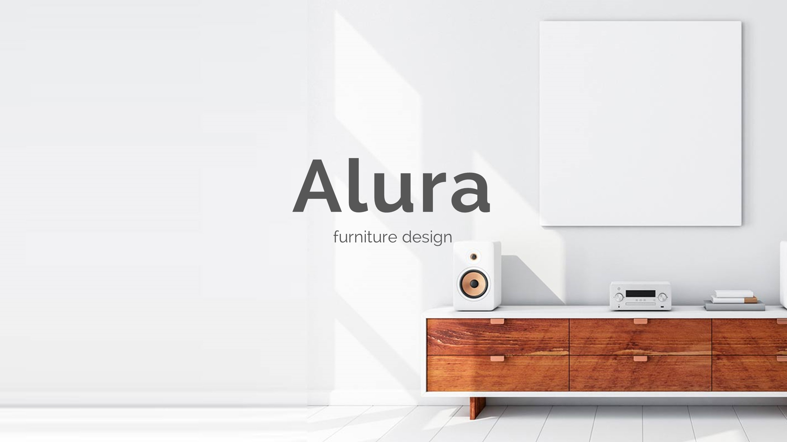 minimal furniture design. Alura Minimal And Furniture Design Powerpoint Template - Creative PowerPoint Templates · Preview Image Set/Slide1.
