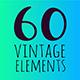 Vintage Floral Elements - GraphicRiver Item for Sale