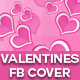 Valentines Facebook Cover - GraphicRiver Item for Sale