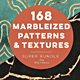 168 Marbleized Gold Patterns & Textures