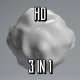 White Deformed Sphere - VideoHive Item for Sale