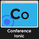 Conference Ionic 3 - Full Application with Firebase backend - CodeCanyon Item for Sale