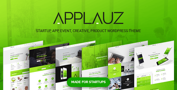 Applauz - Startup WordPress Theme