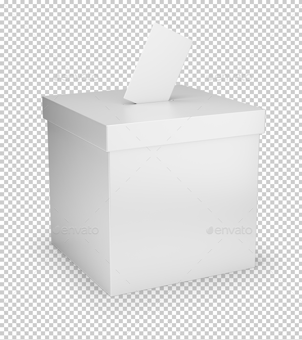 Voting Box - Objects 3D Renders