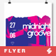 Midnight Groove - Party Flyer / Poster Artwork Template A3 - GraphicRiver Item for Sale