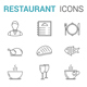 Restaurant Line Icons - GraphicRiver Item for Sale