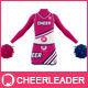 Cheerleader Costume Mock-Up (Front & Back views) - GraphicRiver Item for Sale