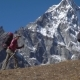 Backpackers Climb in the Mountains - VideoHive Item for Sale