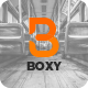 Boxy Google Slides - GraphicRiver Item for Sale