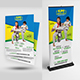 Kids Karate | Martial Arts Training Flyer & Roll Up Bundle