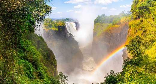 Victoria Falls Waterfall