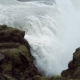 Panorama of Gullfoss Waterfall Beautiful Nature of Iceland - VideoHive Item for Sale