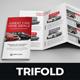 Luxury Car Sale Rental Trifold Brochure v2 - GraphicRiver Item for Sale