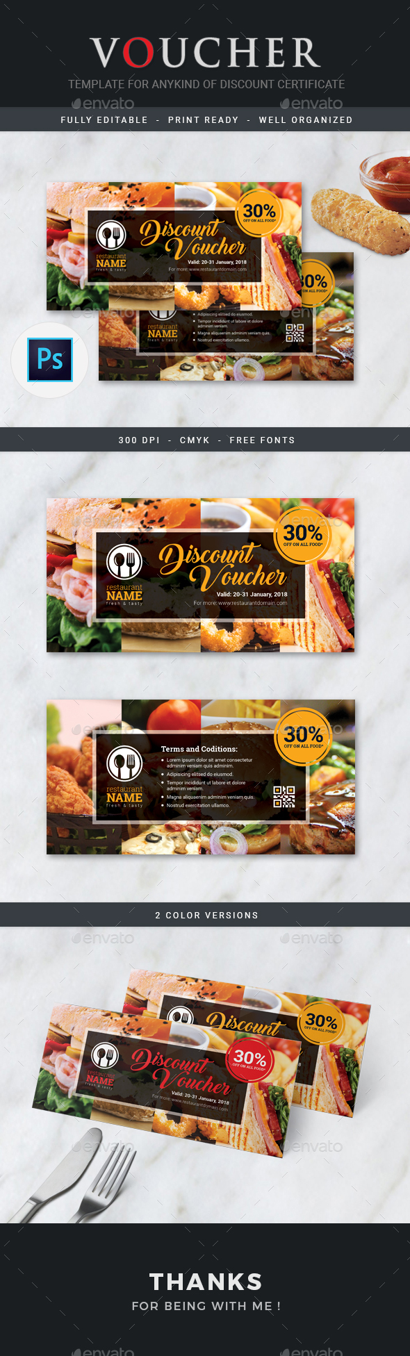 Discount Voucher - Loyalty Cards Cards & Invites