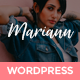 Mariann - Personal WordPress Blog Theme - ThemeForest Item for Sale