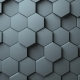 Hexagons Background Random Motion - VideoHive Item for Sale