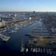 City Harbor From Drone - VideoHive Item for Sale