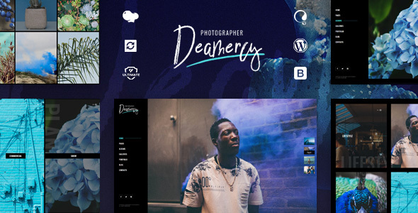 Image of Deamercy - Photography Portfolio WordPress Theme