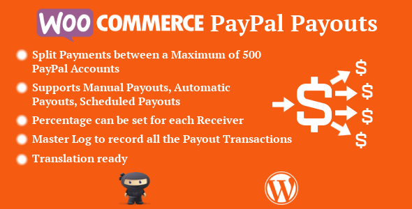WooCommerce PayPal Payouts - CodeCanyon Item for Sale