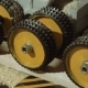 Rolling Wheels of Board Refiner Machine at Carpenter Production - VideoHive Item for Sale