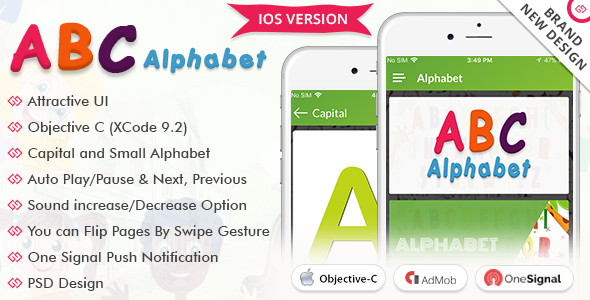 iOS Alphabet - CodeCanyon Item for Sale