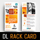 Corporate Rack Card Template - GraphicRiver Item for Sale