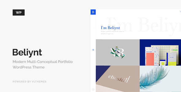 Beliynt - Modern Multi-Conceptual Portfolio WordPress Theme - Portfolio Creative